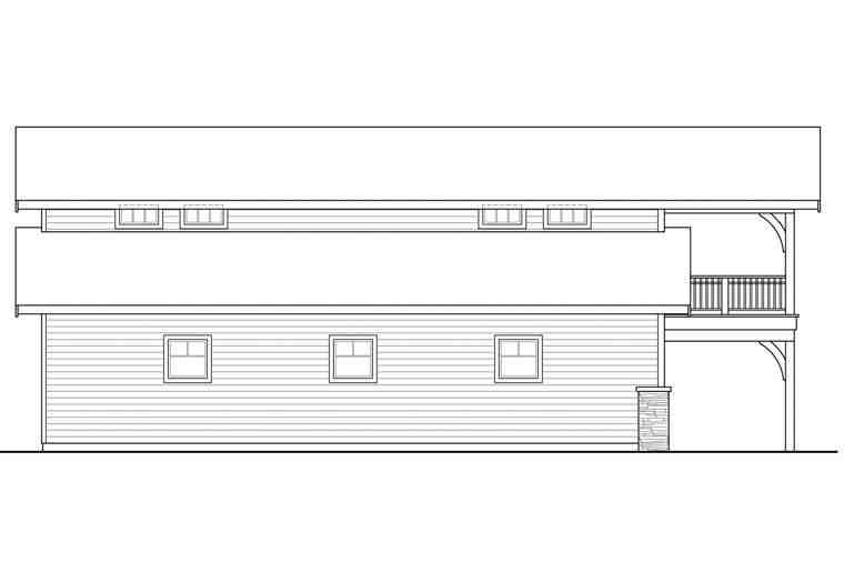 Country 6 Car Garage Plan 41159 Picture 1