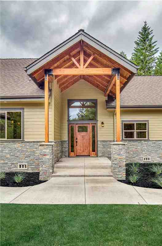 Bungalow, Country, Craftsman, Ranch House Plan 41200 with 3 Beds, 4 Baths, 2 Car Garage Picture 3