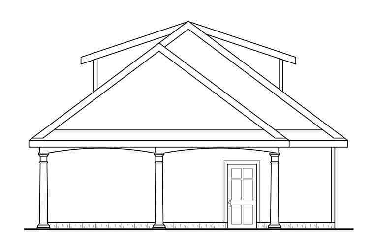 Contemporary 3 Car Garage Plan 41275 Picture 1