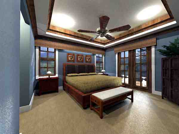 Craftsman House Plan 42623 with 3 Beds, 2 Baths, 2 Car Garage Picture 2
