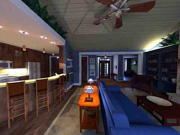 Craftsman House Plan 42623 with 3 Beds, 2 Baths, 2 Car Garage Picture 6