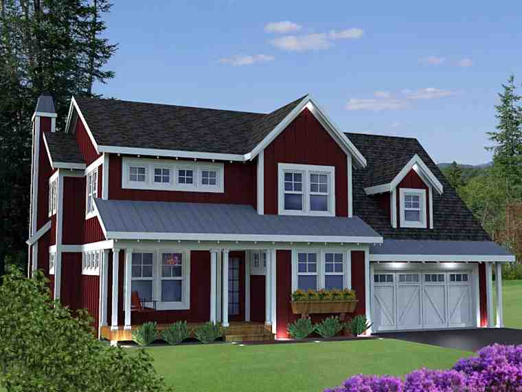 House Plan 42628 with 3 Beds, 4 Baths, 3 Car Garage Picture 2