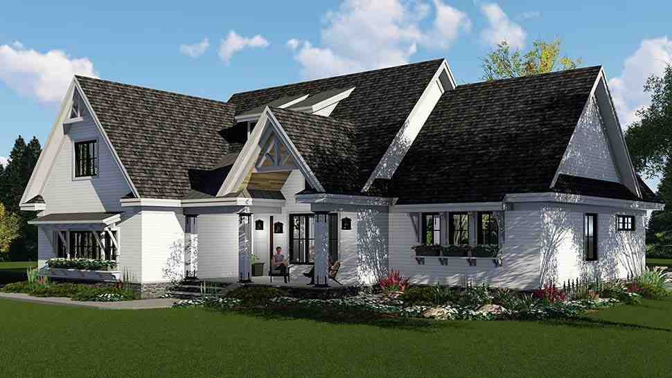 Country, Craftsman, Farmhouse, Southern House Plan 42696 with 3 Beds, 3 Baths, 2 Car Garage Picture 1