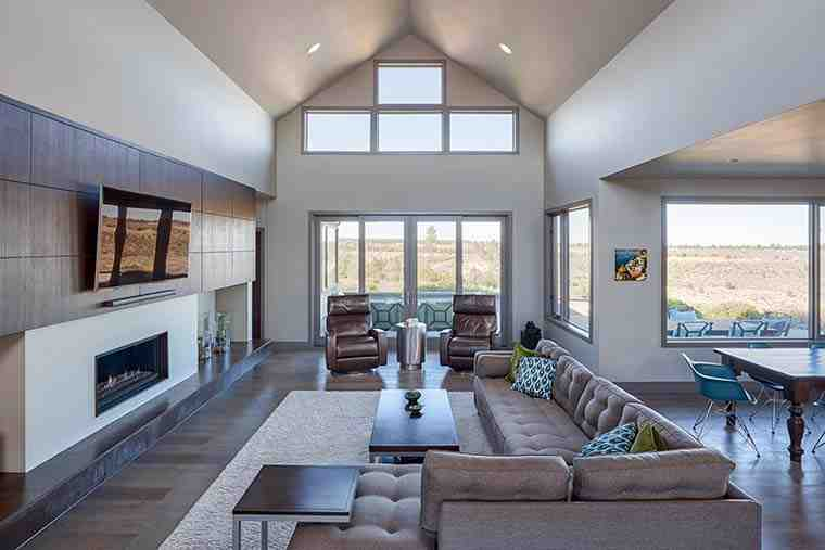 Contemporary, Modern House Plan 43312 with 5 Beds, 4 Baths, 3 Car Garage Picture 5