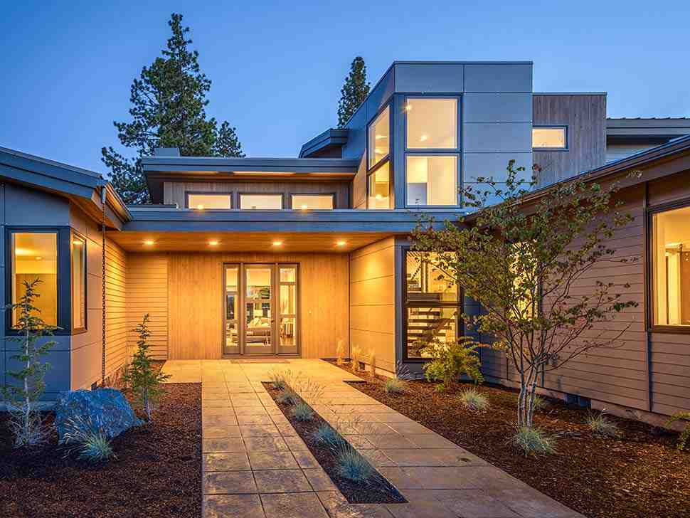 Contemporary, Modern House Plan 43315 with 5 Beds, 4 Baths, 2 Car Garage Picture 3