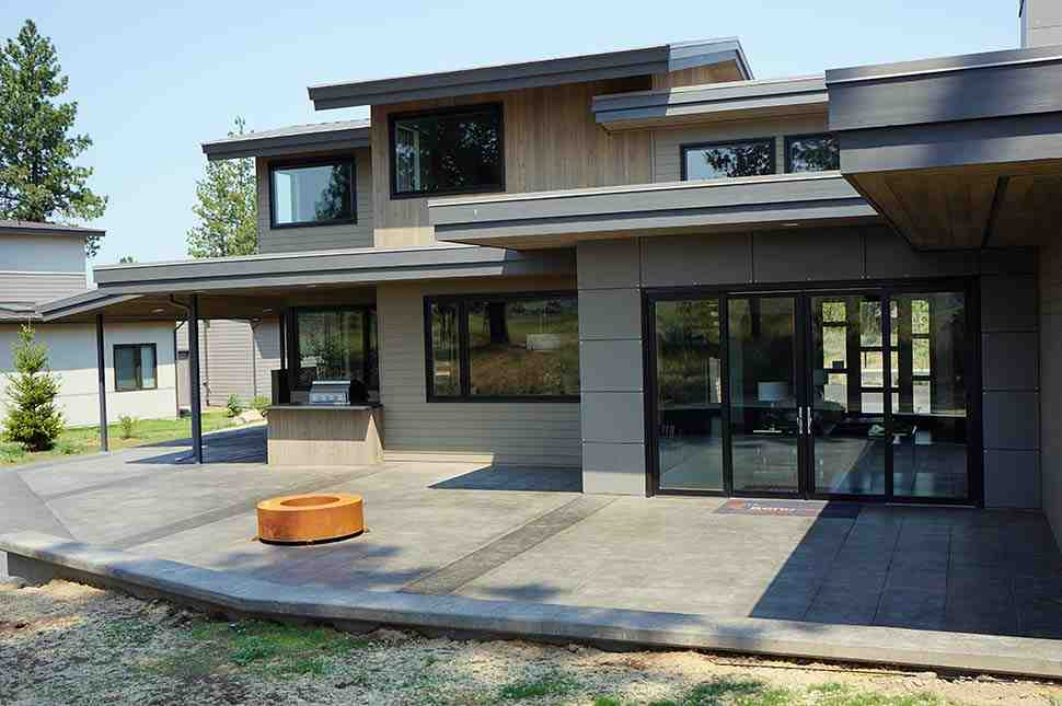 Contemporary, Modern House Plan 43315 with 5 Beds, 4 Baths, 2 Car Garage Picture 8