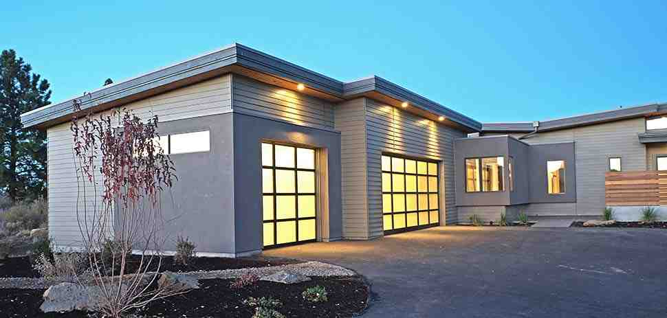 Contemporary, Modern House Plan 43316 with 3 Beds, 4 Baths, 3 Car Garage Picture 3