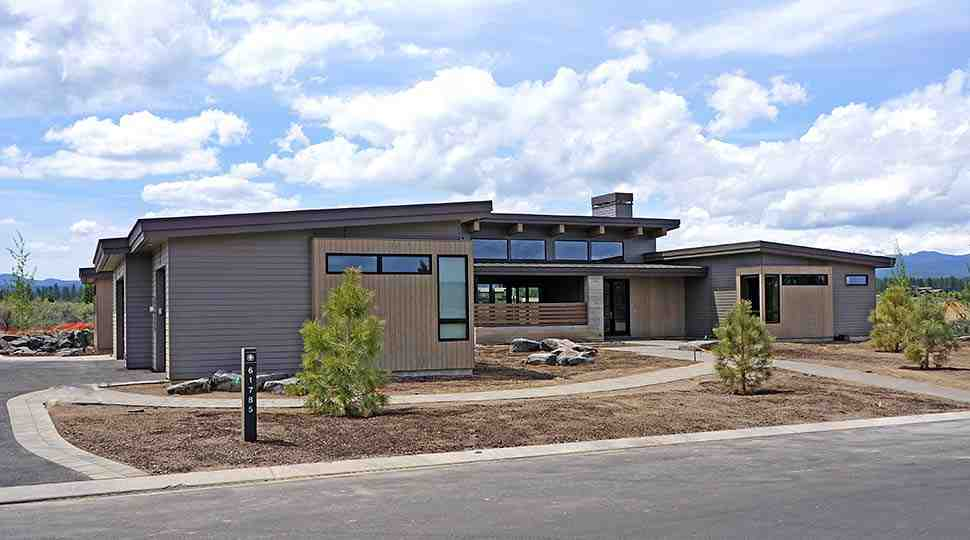 Contemporary, Modern House Plan 43319 with 3 Beds, 4 Baths, 3 Car Garage Picture 1