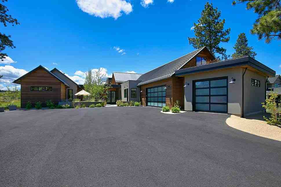 Contemporary, Farmhouse, Modern House Plan 43323 with 3 Beds, 4 Baths, 3 Car Garage Picture 1