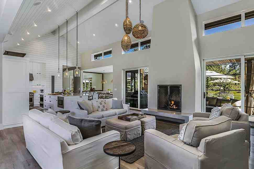 Contemporary, Farmhouse, Modern House Plan 43323 with 3 Beds, 4 Baths, 3 Car Garage Picture 9