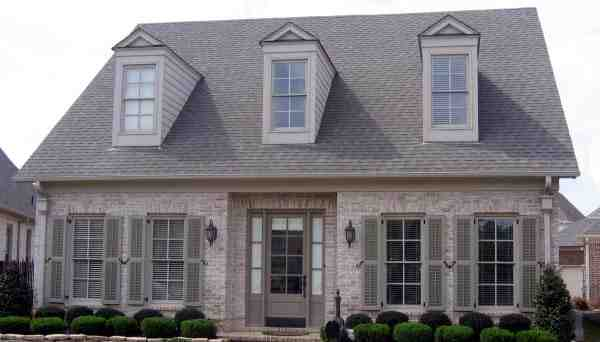 Colonial House Plan 48324 with 4 Beds, 4 Baths, 2 Car Garage Elevation