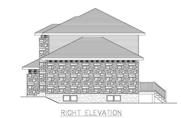 Contemporary, Modern House Plan 50323 with 3 Beds, 2 Baths, 2 Car Garage Picture 2