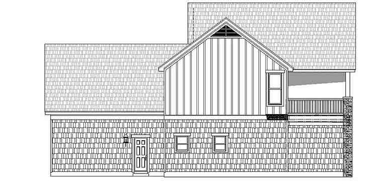 Colonial, Southern, Traditional House Plan 51599 with 3 Beds, 3 Baths, 2 Car Garage Picture 1