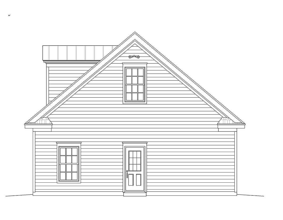 Bungalow, Cape Cod, Colonial, Country, Craftsman, European, Farmhouse, Historic, Ranch, Saltbox, Traditional 4 Car Garage Plan 51682 Picture 1