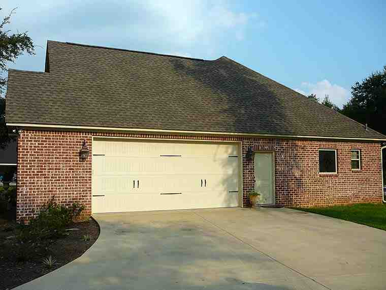 European, French Country House Plan 51952 with 4 Beds, 4 Baths, 2 Car Garage Picture 2