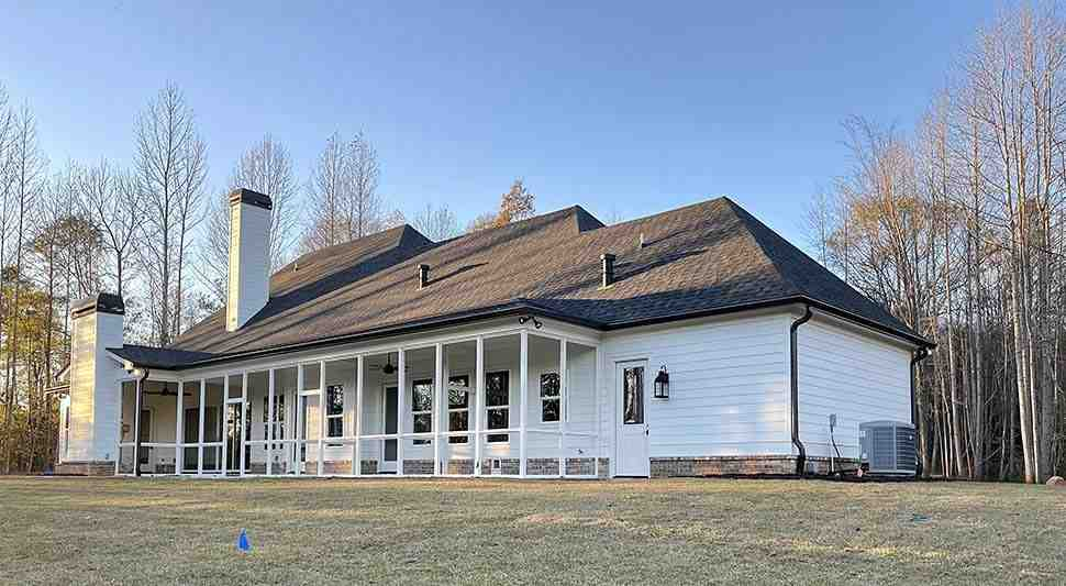Craftsman, Farmhouse House Plan 52030 with 4 Beds, 4 Baths, 4 Car Garage Picture 12