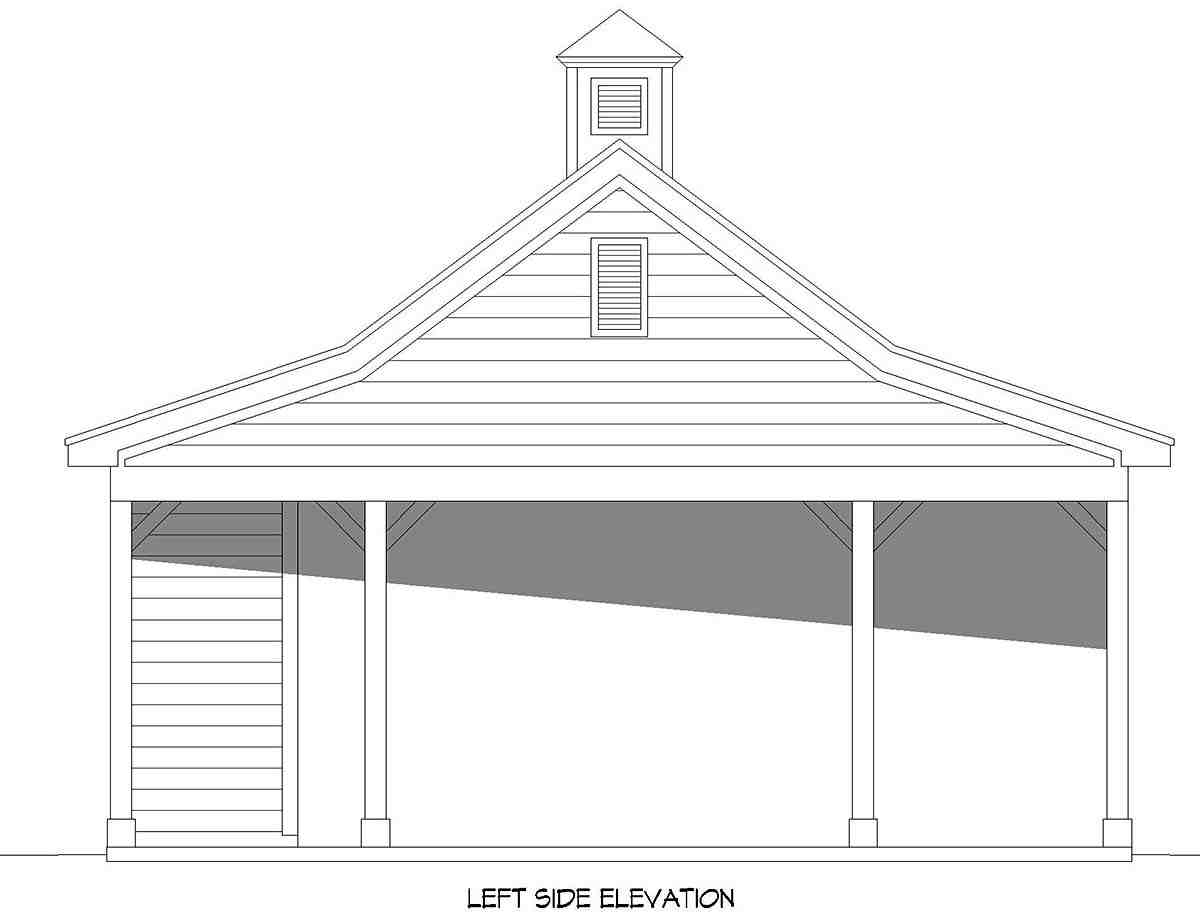 Contemporary 2 Car Garage Plan 52139 Picture 2