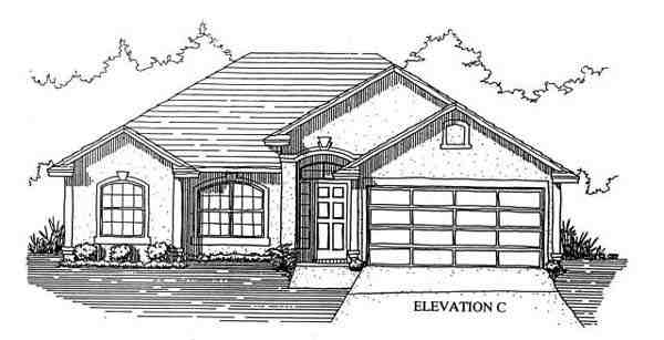 House Plan 53245 with 4 Beds, 2 Baths, 2 Car Garage Picture 2