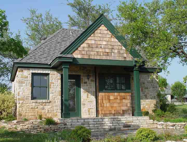 Cottage, Craftsman House Plan 56580 with 1 Beds, 1 Baths Picture 1