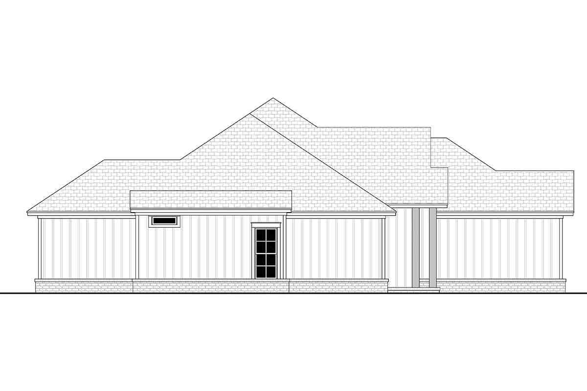 Country, Craftsman, Farmhouse House Plan 56704 with 4 Beds, 2 Baths, 2 Car Garage Picture 2