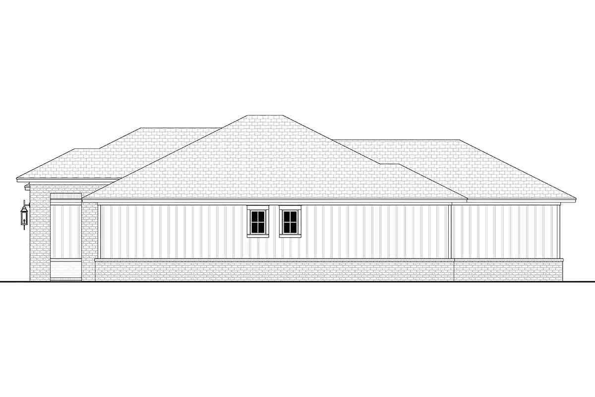 Country, Farmhouse, Ranch House Plan 56706 with 3 Beds, 3 Baths, 2 Car Garage Picture 1