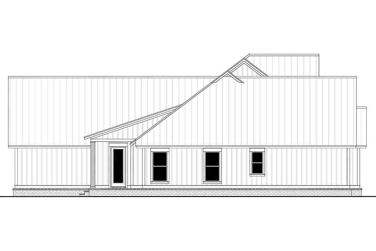 Country, Farmhouse, One-Story, Traditional House Plan 56716 with 4 Beds, 4 Baths, 3 Car Garage Picture 2