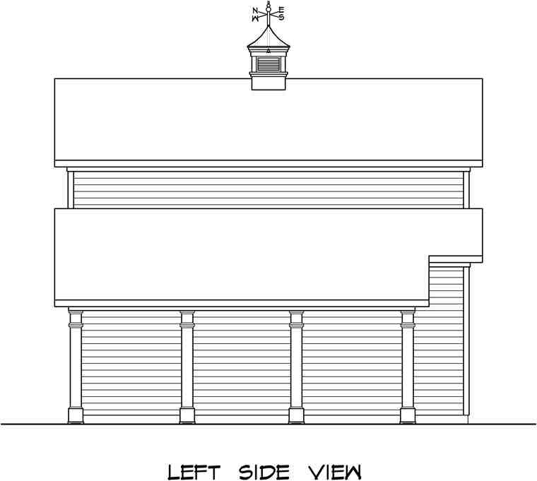 2 Car Garage Plan 58244 Picture 1