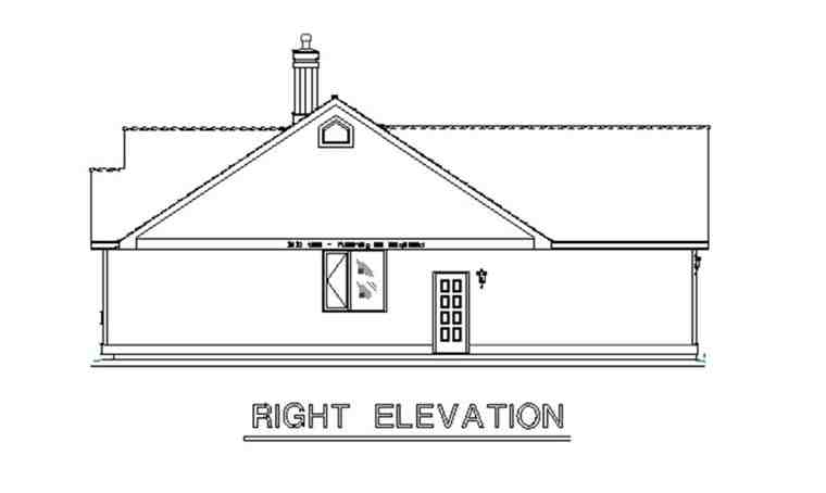 Country House Plan 58558 with 3 Beds, 3 Baths, 2 Car Garage Picture 2