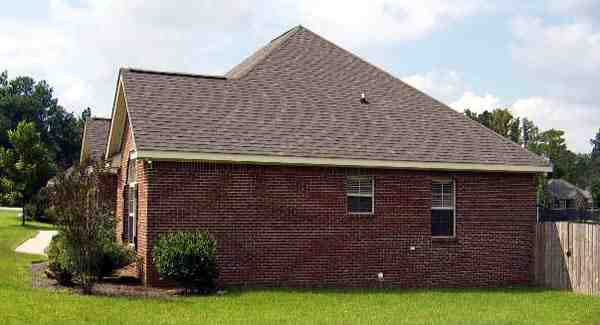 European House Plan 59007 with 3 Beds, 2 Baths, 2 Car Garage Picture 2