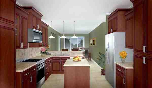 Country, Farmhouse, Ranch House Plan 59014 with 3 Beds, 3 Baths, 2 Car Garage Picture 2