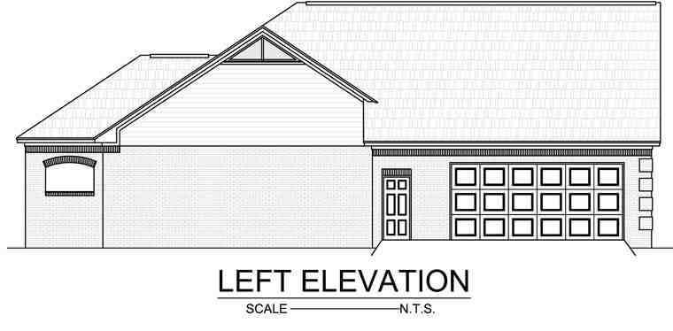 Country, European, French Country, Traditional House Plan 59140 with 3 Beds, 3 Baths, 3 Car Garage Picture 2