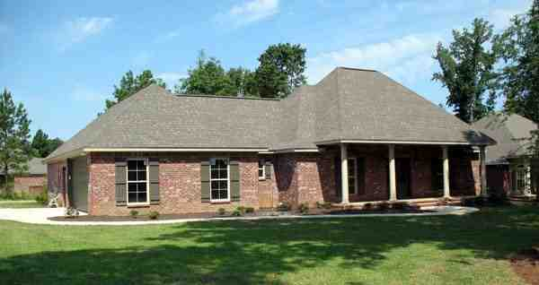 Country, Southern, Traditional House Plan 59180 with 3 Beds, 2 Baths, 2 Car Garage Picture 7