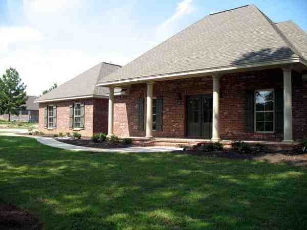 Country, Southern, Traditional House Plan 59180 with 3 Beds, 2 Baths, 2 Car Garage Picture 8