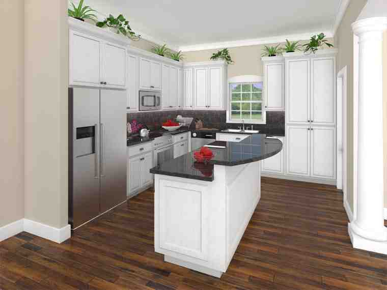 Bungalow, Craftsman, Traditional House Plan 59201 with 3 Beds, 2 Baths, 2 Car Garage Picture 1
