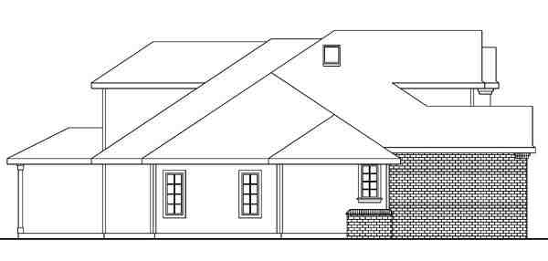 Contemporary, European, Traditional House Plan 59708 with 3 Beds, 3 Baths, 3 Car Garage Picture 1