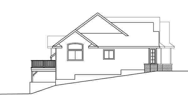 Contemporary, Cottage, European, Traditional House Plan 59719 with 3 Beds, 3 Baths, 2 Car Garage Picture 1