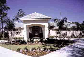 Florida, Mediterranean, One-Story House Plan 63133 with 4 Beds, 4 Baths, 3 Car Garage Picture 1