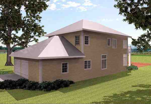 Traditional House Plan 64580 with 4 Beds, 3 Baths, 2 Car Garage Picture 5