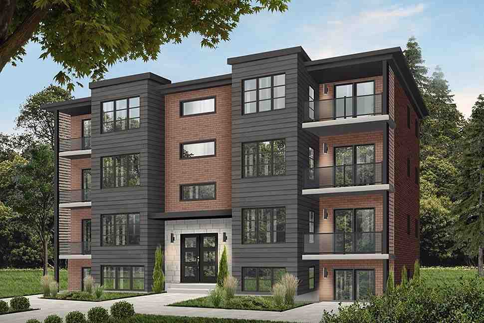 Victorian Multi-Family Plan 64952 with 16 Beds, 8 Baths Elevation