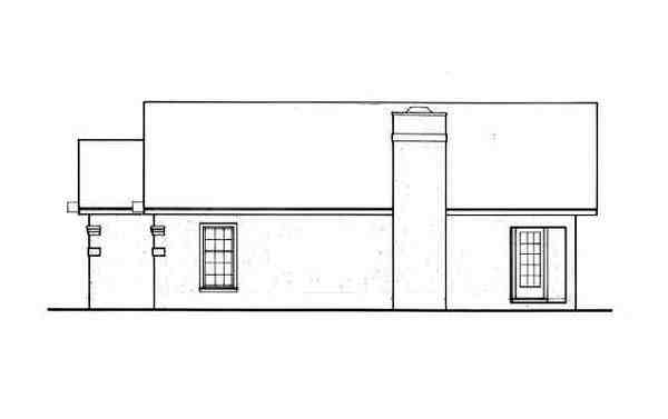 European, One-Story Multi-Family Plan 65706 with 4 Beds, 4 Baths Picture 2