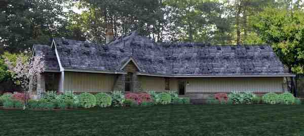Cottage, Country, Craftsman, Traditional, Tuscan House Plan 65877 with 3 Beds, 3 Baths, 3 Car Garage Picture 7