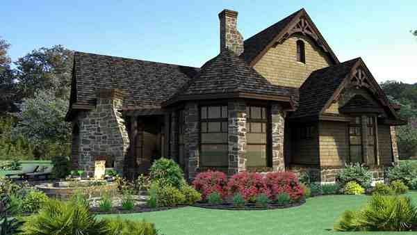 Craftsman, Tuscan House Plan 65888 with 3 Beds, 3 Baths, 2 Car Garage Picture 1