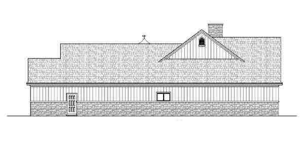 Traditional House Plan 65974 with 4 Beds, 3 Baths, 2 Car Garage Picture 1