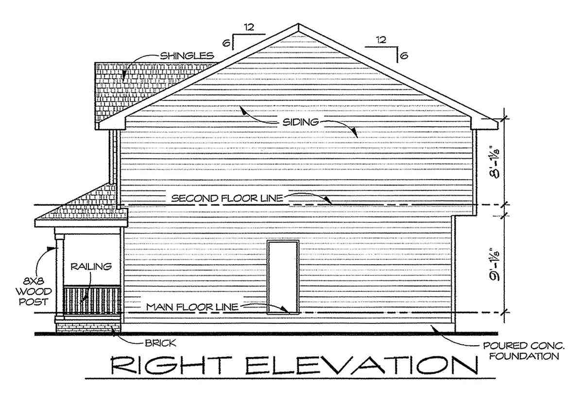 Traditional House Plan 66715 with 3 Beds, 3 Baths Picture 1