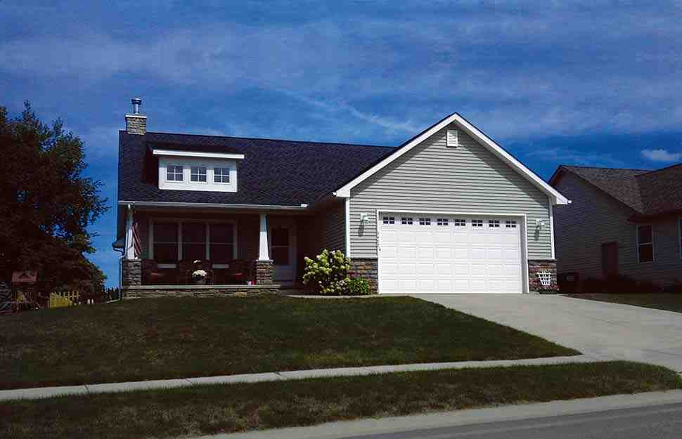 Craftsman House Plan 68231 with 3 Beds, 2 Baths, 2 Car Garage Picture 5