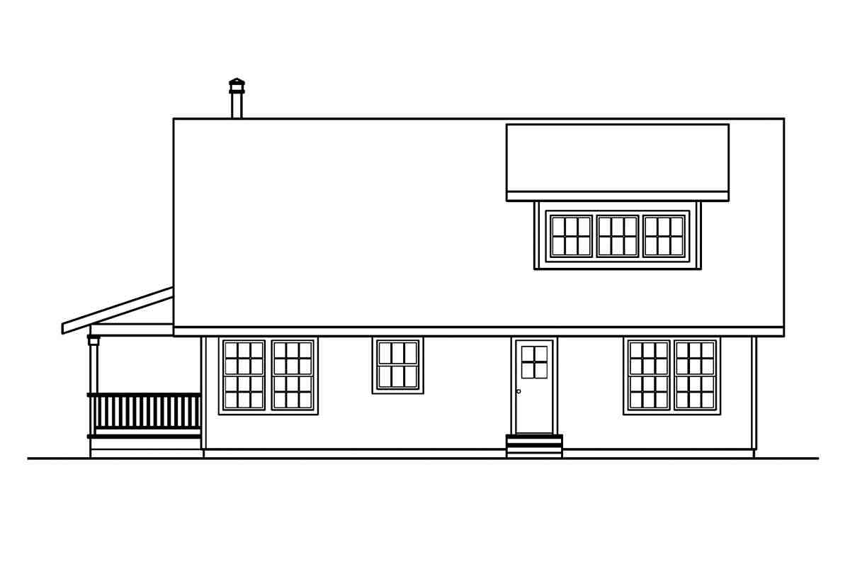 Cabin, Country House Plan 69144 with 3 Beds, 3 Baths Picture 1