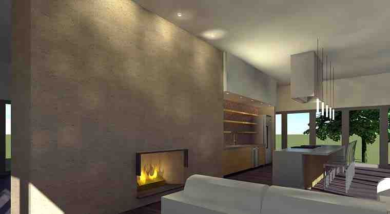 Modern House Plan 70846 with 1 Beds, 1 Baths Picture 1