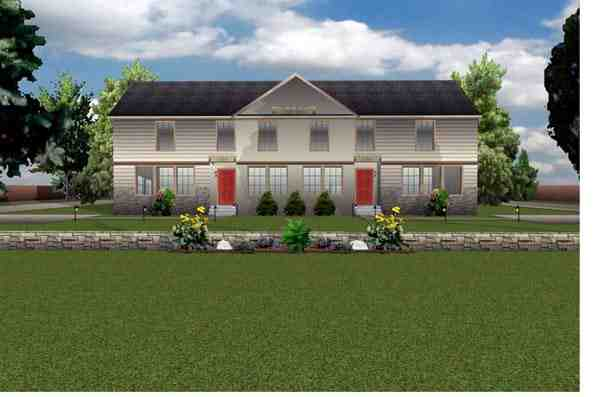 Contemporary Multi-Family Plan 70931 with 6 Beds, 6 Baths Elevation