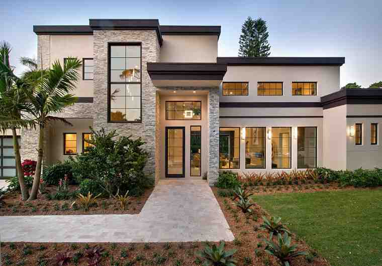 Contemporary, Modern House Plan 71554 with 6 Beds, 7 Baths, 3 Car Garage Picture 1