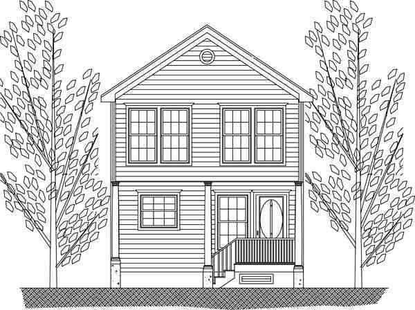 House Plan 71901 with 3 Beds, 3 Baths Picture 1